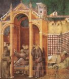 Foto mural Apparition to Fra Agostino and to Bishop Guido of Arezzo